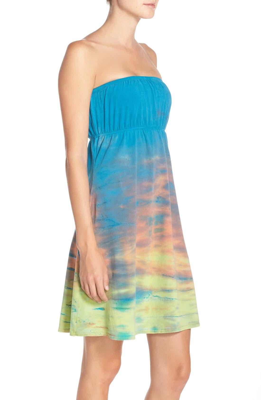 Alternate Image 3  - Hard Tail Strapless Cover-Up Dress