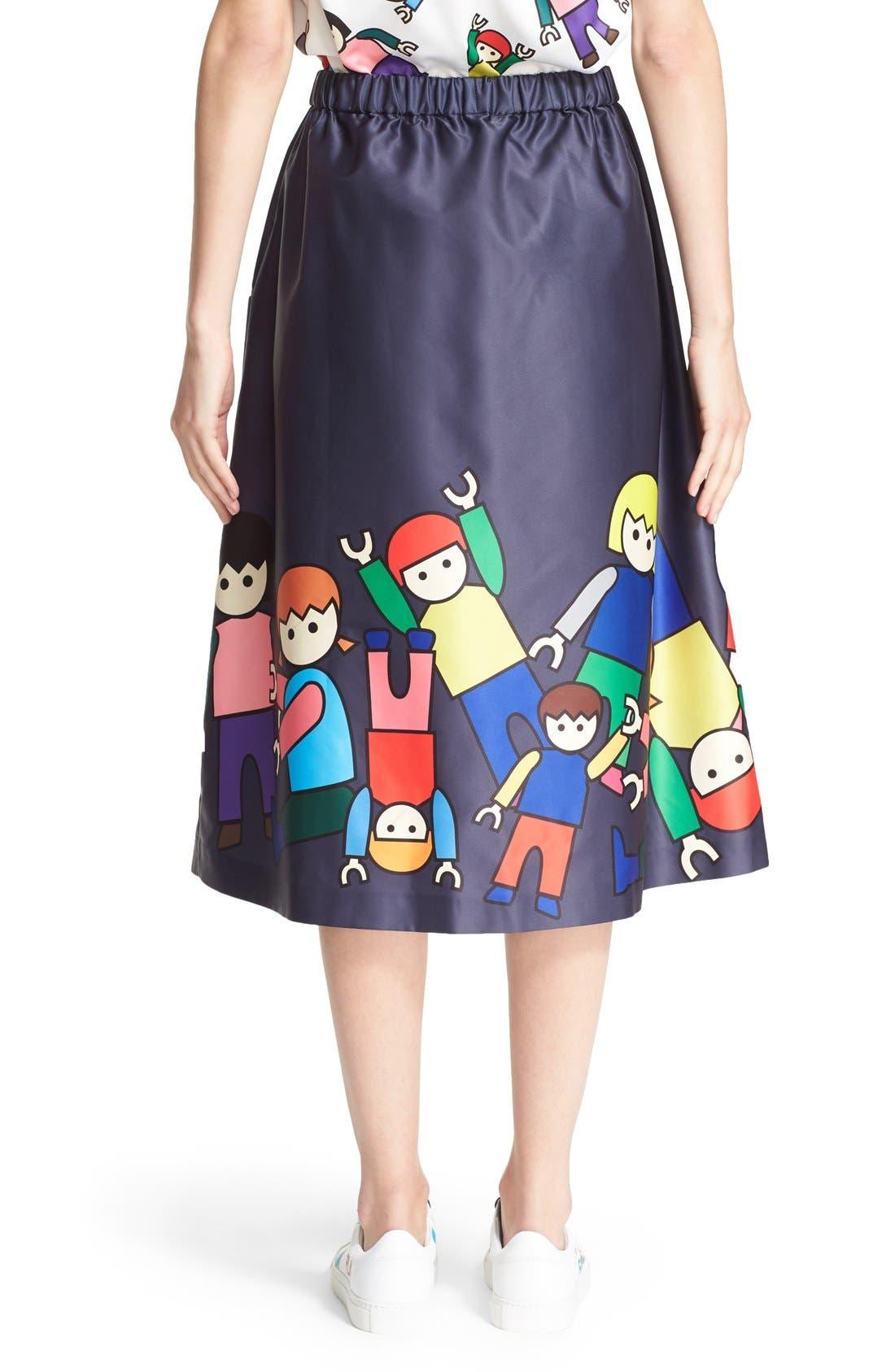 Alternate Image 2  - Mira Mikati 'Little People' Skirt (Nordstrom Exclusive)
