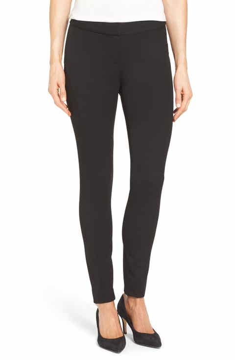Vince Camuto Stretch Twill Skinny Pants (Regular   Petite)