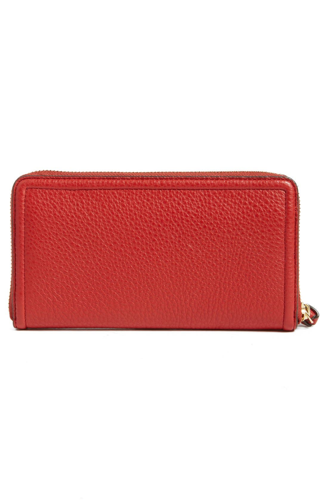 Alternate Image 5  - Tory Burch 'Thea' Zip Leather Continental Wallet