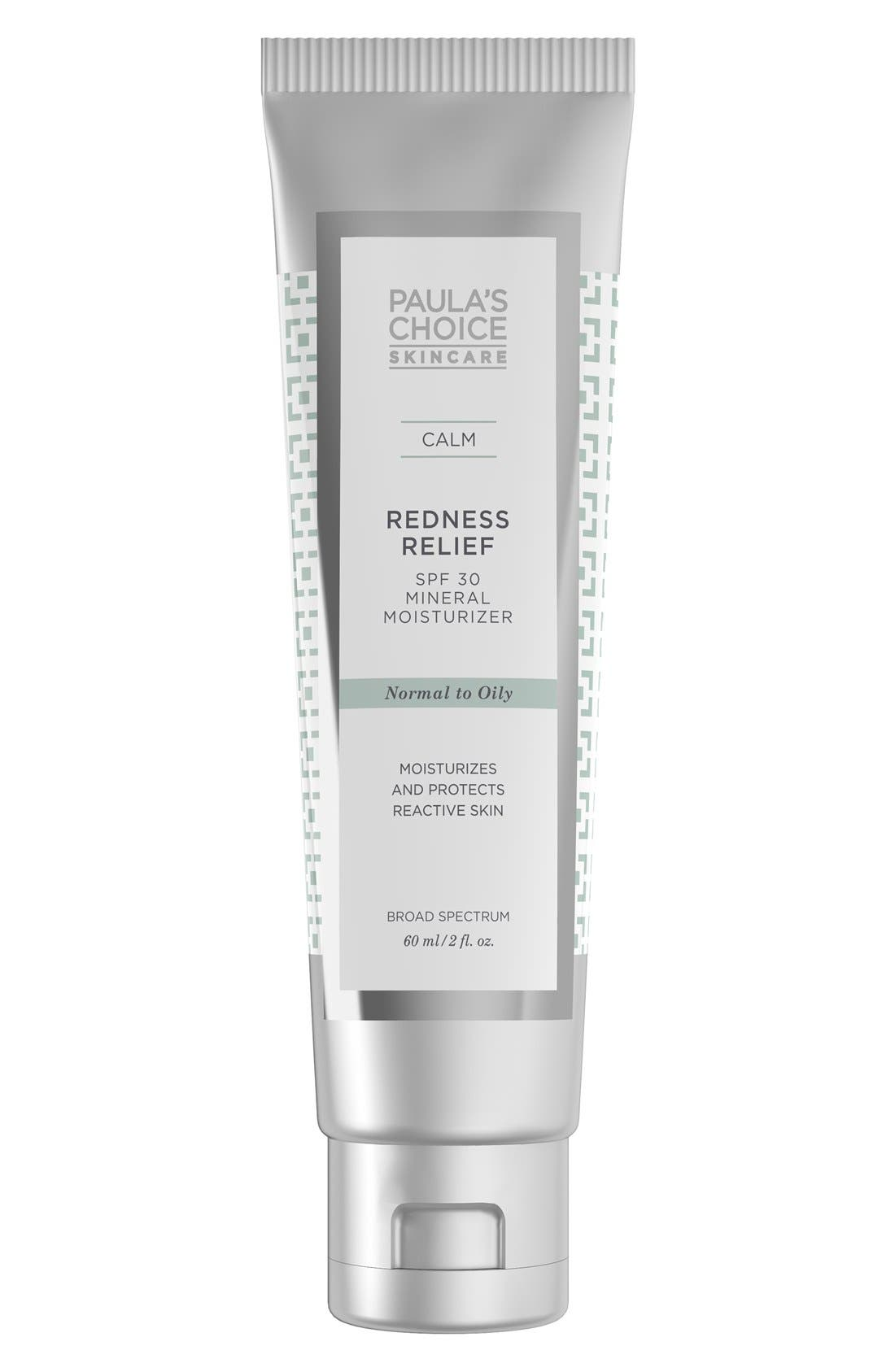 Paula's Choice Calm Redness Relief Mineral Moisturizer SPF 30