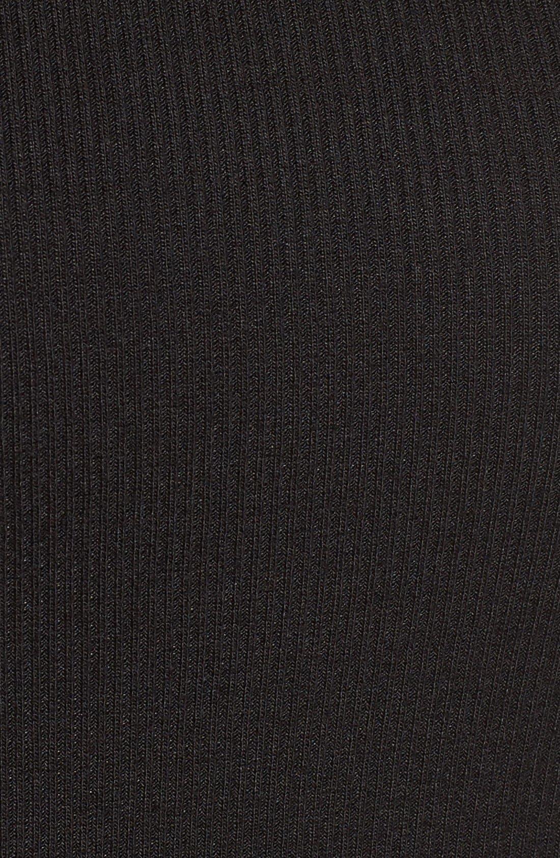 Alternate Image 5  - Amuse Society 'Awaken' Side Cutout Ribbed Crop Top