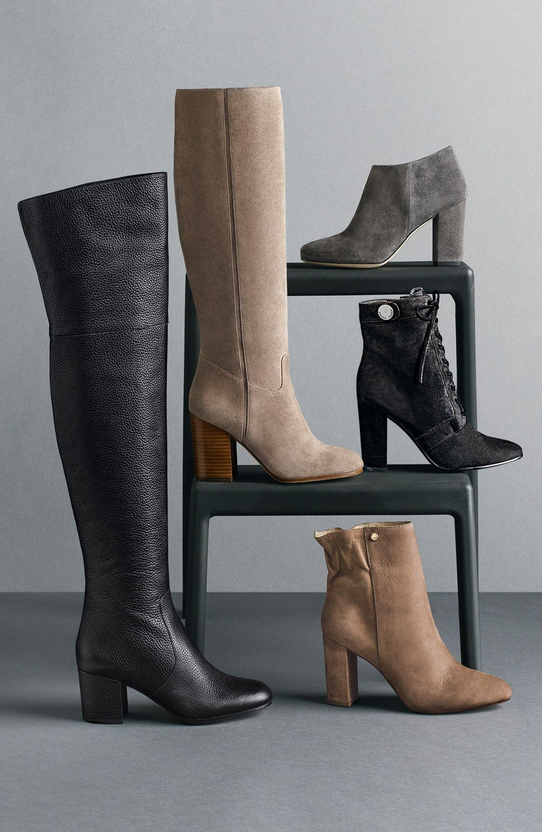 Alternate Image 7  - Ivanka Trump 'Regal' Lace Up Boot (Women)