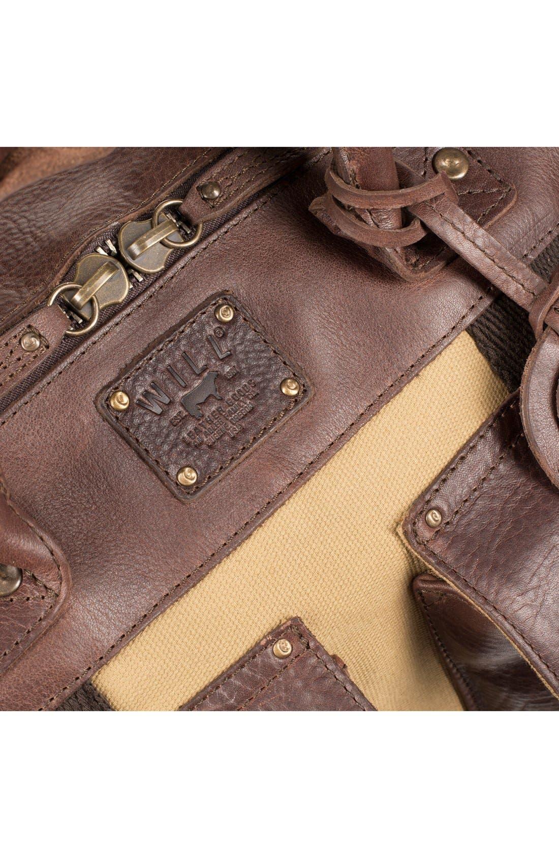 Alternate Image 6  - Will Leather Goods Traveler Duffel Bag