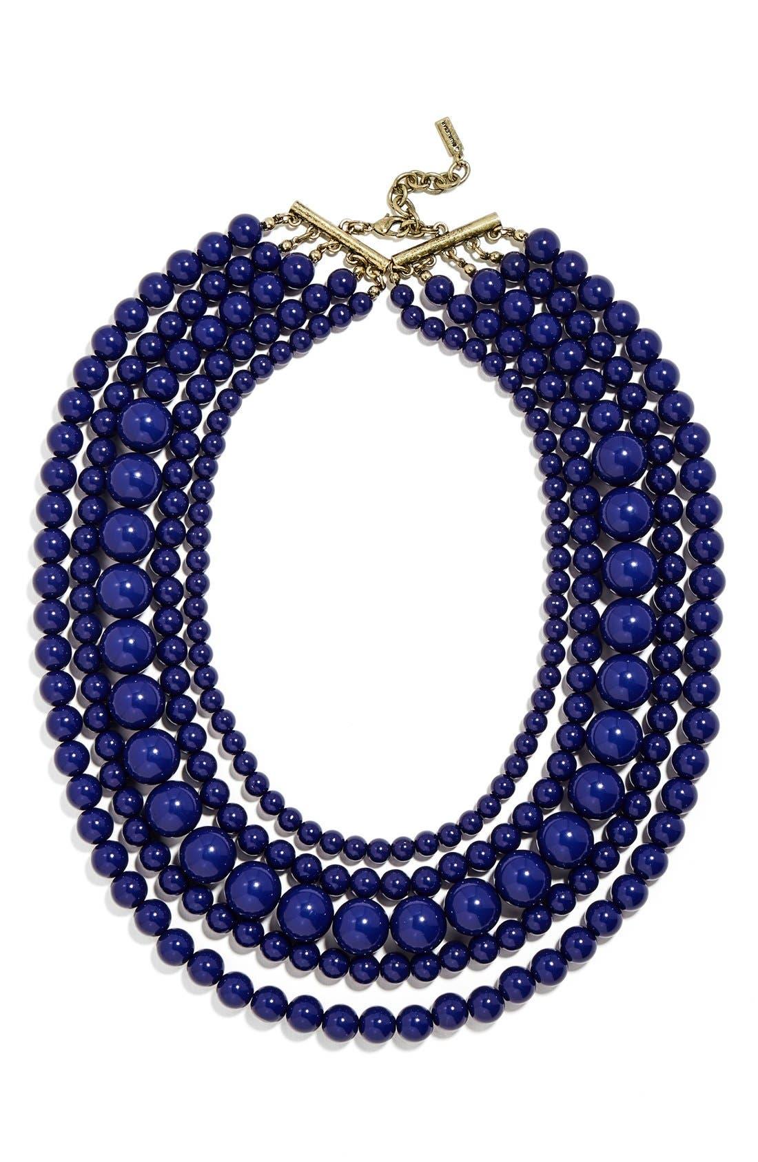 Alternate Image 1 Selected - BaubleBar 'Globe' Multistrand Beaded Necklace