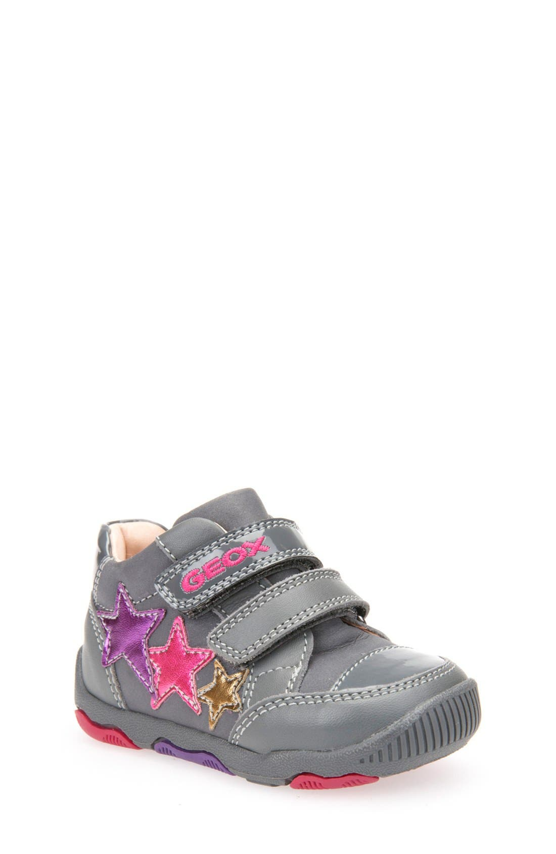 Geox 'New Balu' Sneaker (Baby, Walker & Toddler)