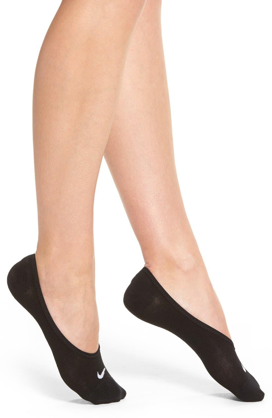 Alternate Image 2  - Nike 3-Pack No-Show Socks