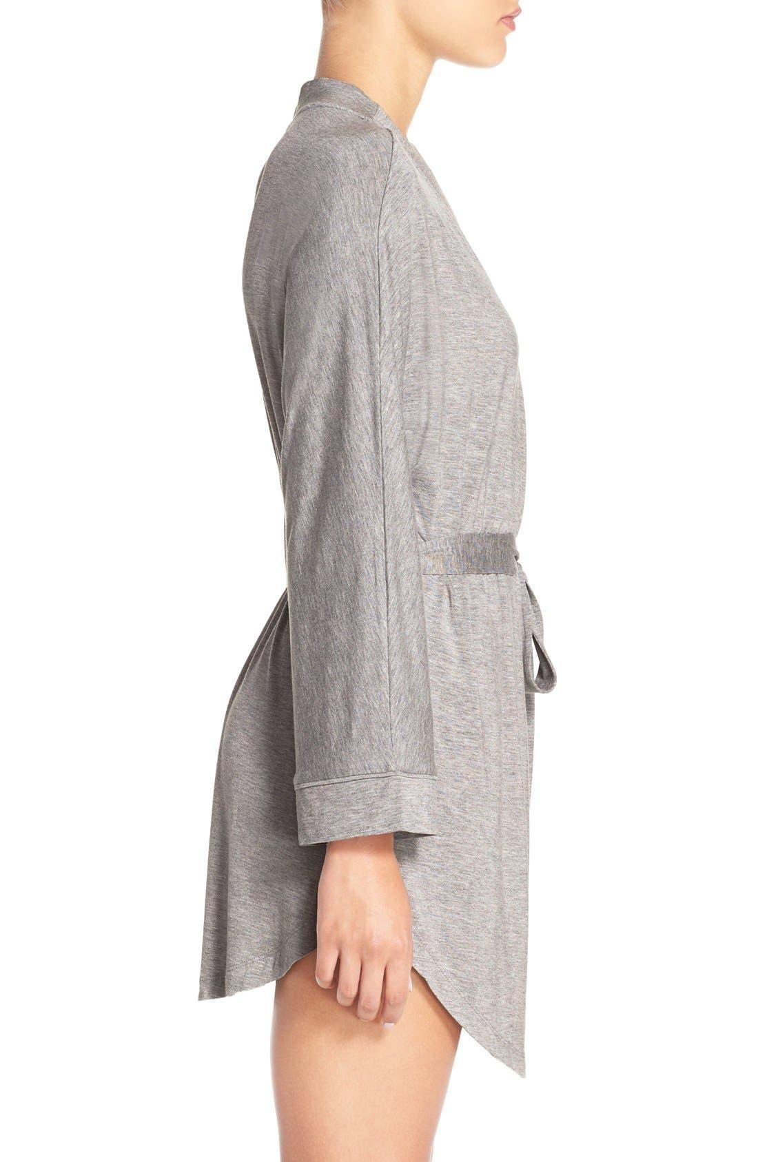 Alternate Image 5  - Honeydew Intimates Jersey Robe (2 for $60)