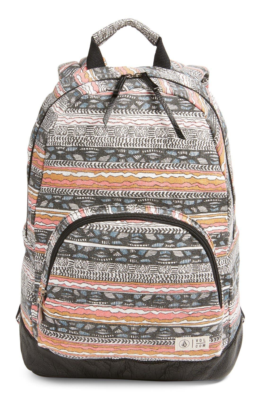 Alternate Image 1 Selected - Volcom 'Schoolyard' Canvas Backpack