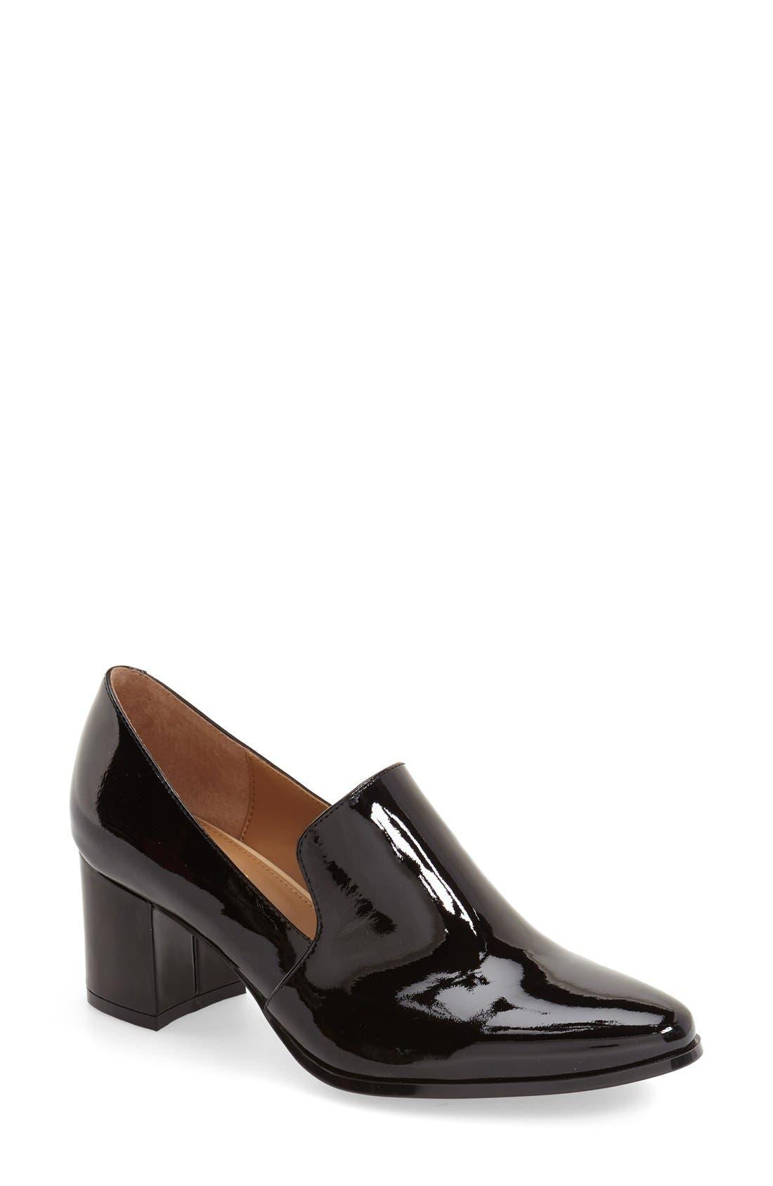 Alternate Image 1 Selected - Calvin Klein 'Faye' Block Heel Pump (Women)