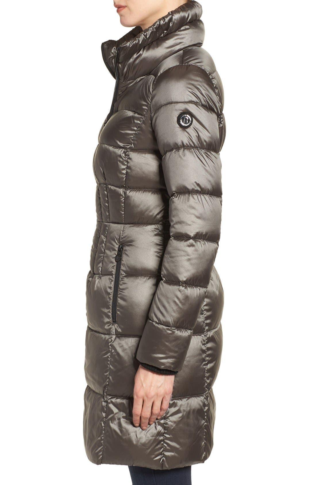 Alternate Image 3  - Bernardo Packable Coat with Down & PrimaLoft® Fill (Regular & Petite)