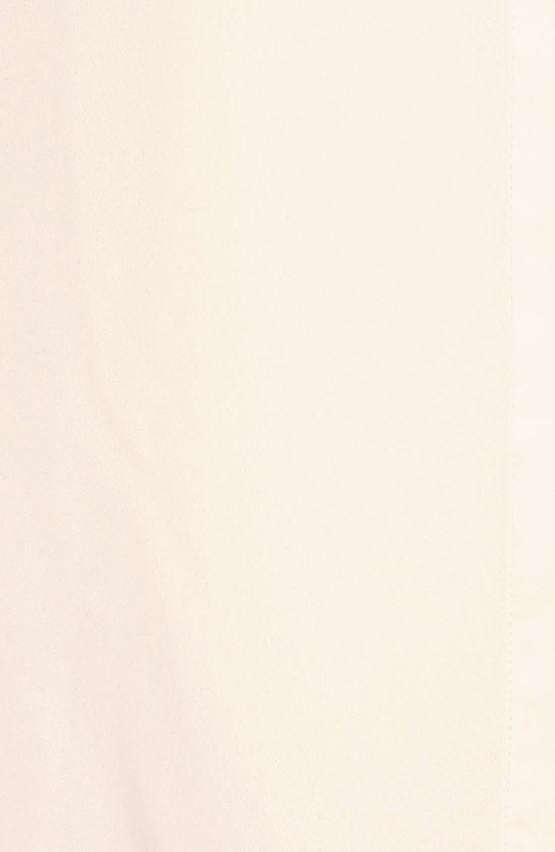 Alternate Image 5  - Bobeau Long Sleeve Contrast Bow Blouse