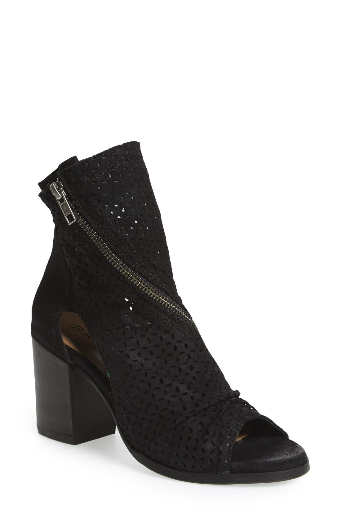 BASKE CALIFORNIA 'Aura' Open Toe Bootie