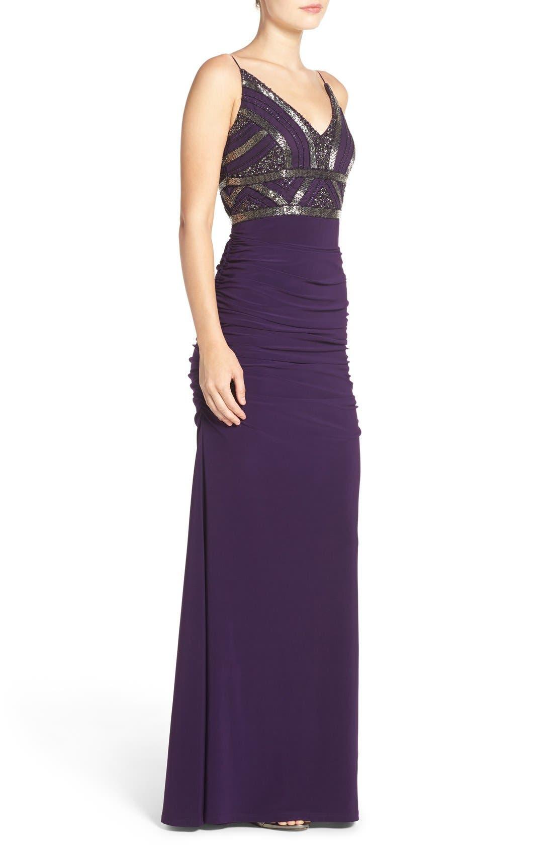 Alternate Image 3  - Adrianna Papell Sleeveless Beaded Bodice Dress