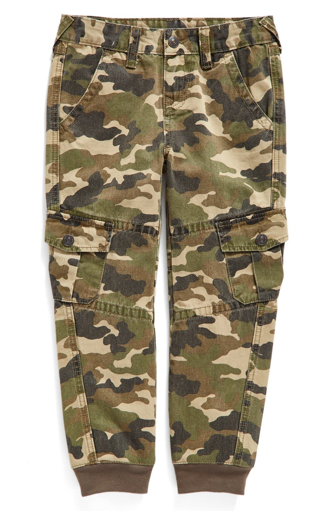 Alternate Image 1 Selected - True Religion Brand Jeans Cargo Jogger Pants (Toddler Boys, Little Boys & Big Boys)