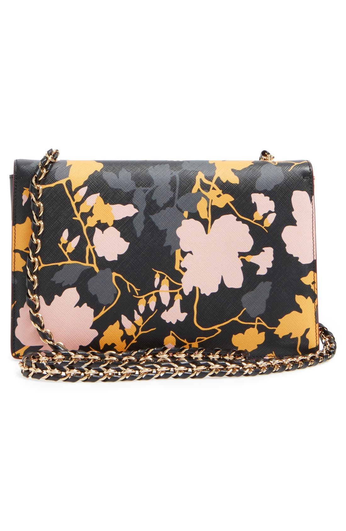 Alternate Image 2  - Salvatore Ferragamo 'Medium Ginny Floral' Shoulder Bag