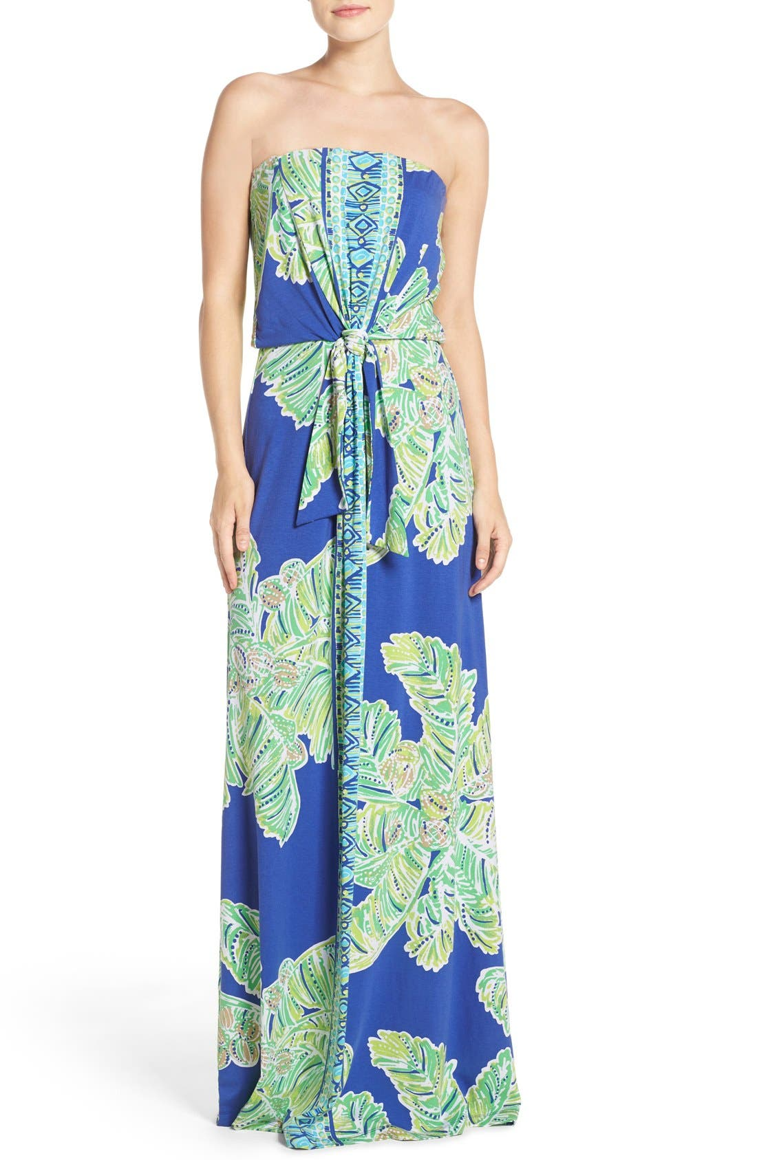 Alternate Image 1 Selected - Lilly Pulitzer® 'Rosalina' Strapless Maxi Dress