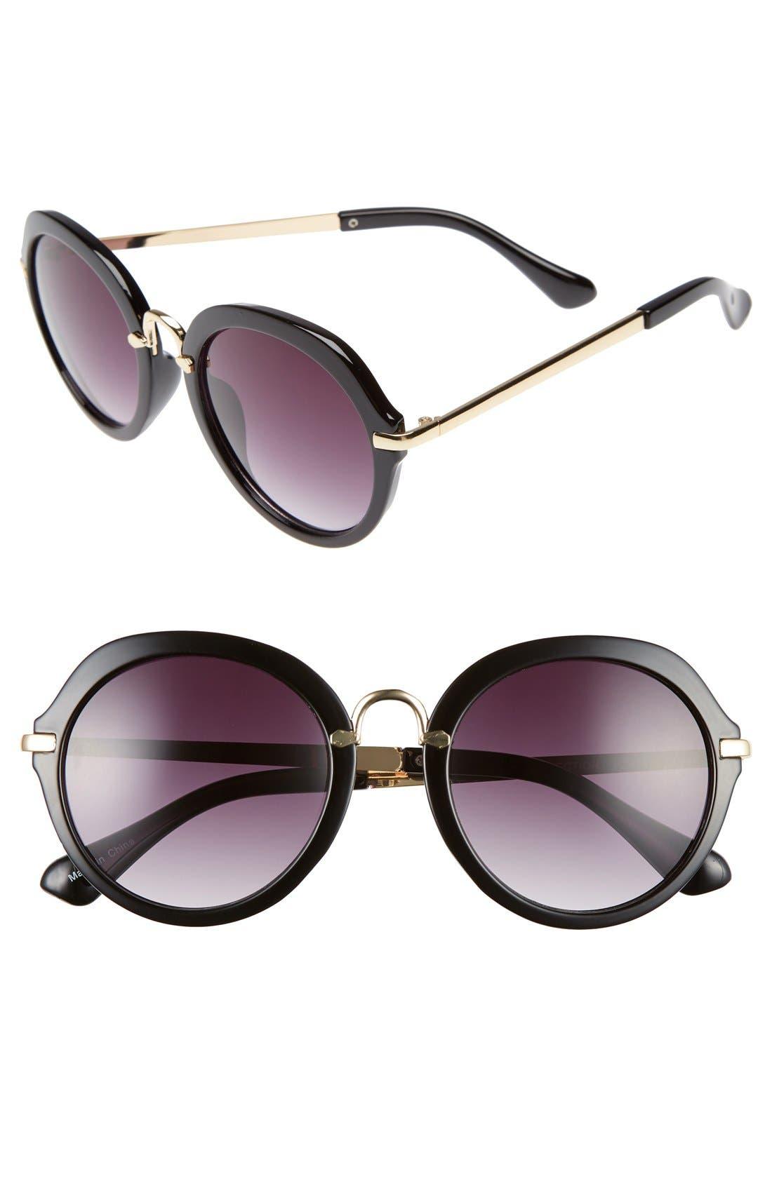 Main Image - BP. 52mm Round Sunglasses