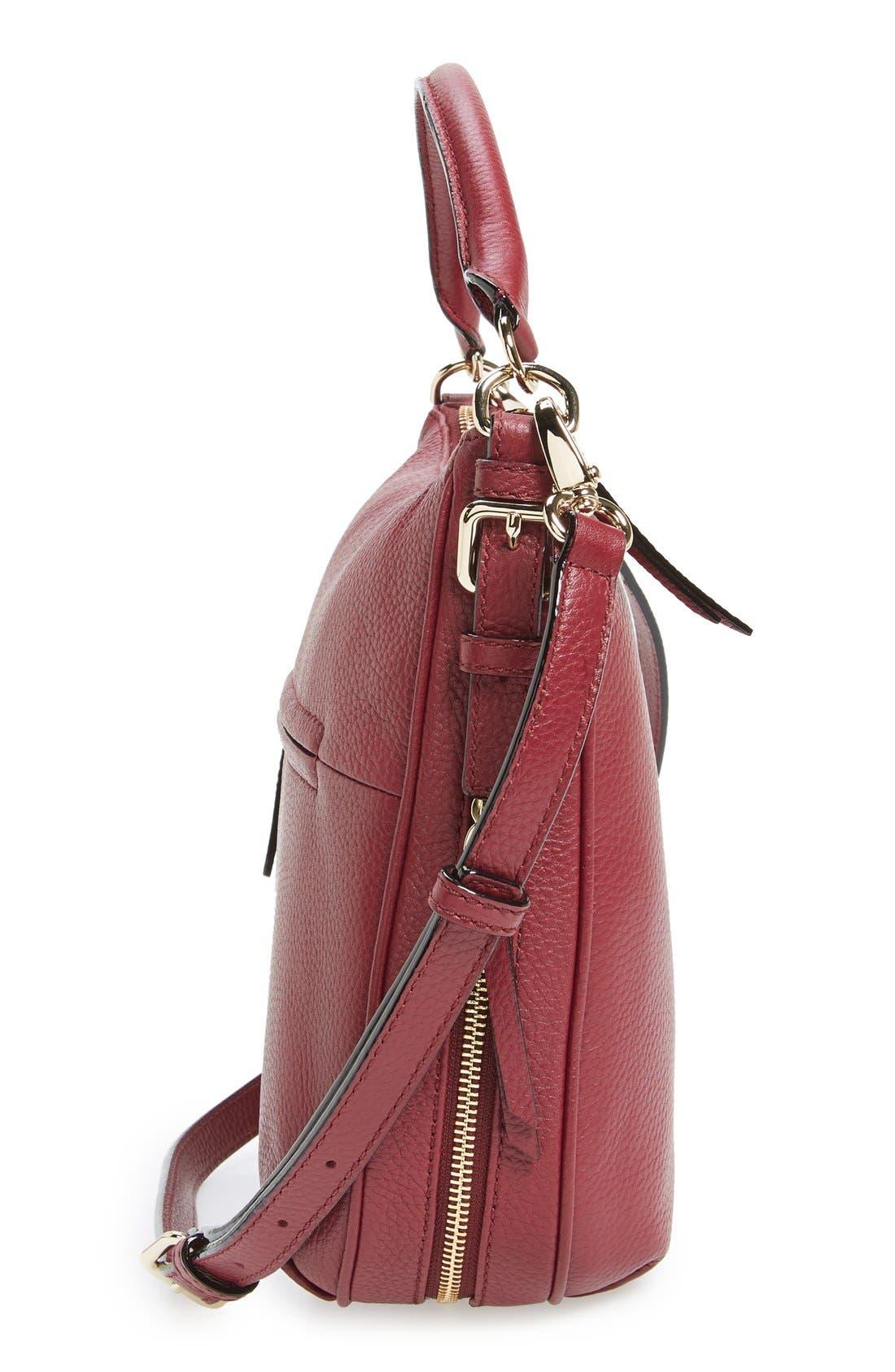 Alternate Image 4  - kate spade new york 'cobble hill - small ella' leather satchel