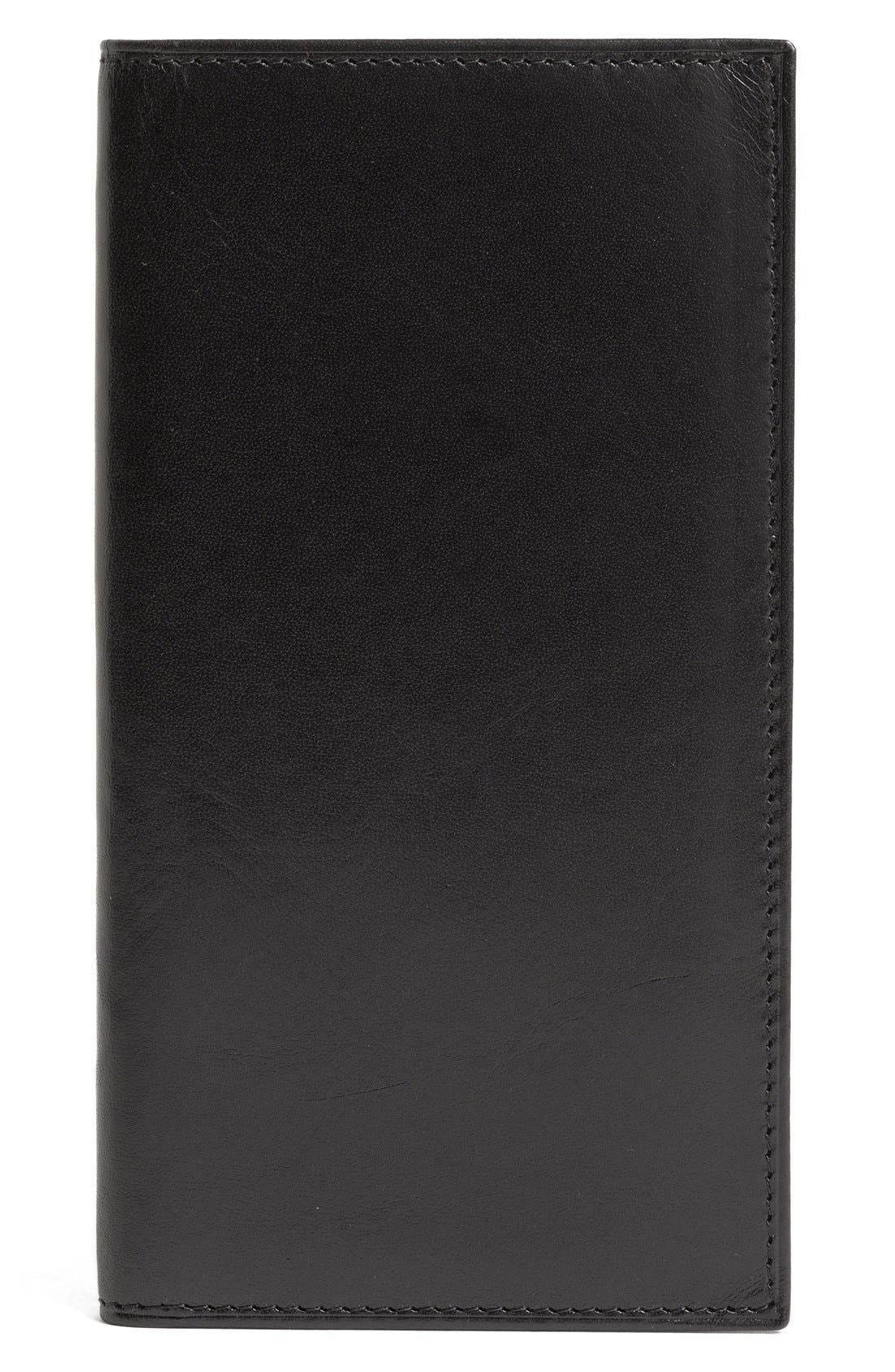 Alternate Image 1 Selected - Bosca 'Old Leather' Checkbook Wallet
