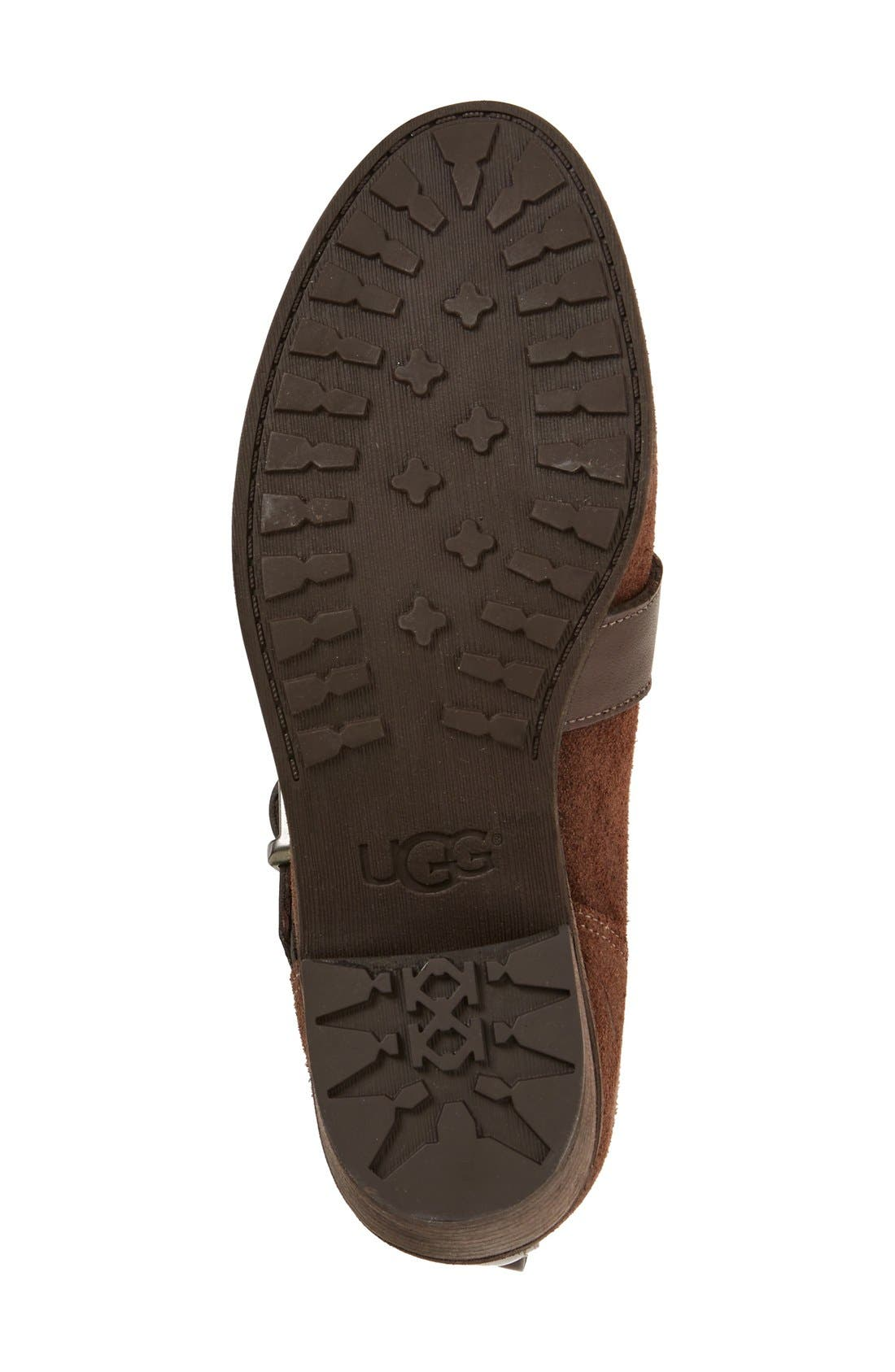 Alternate Image 4  - UGG® 'Wright - Belted' Bootie (Women)