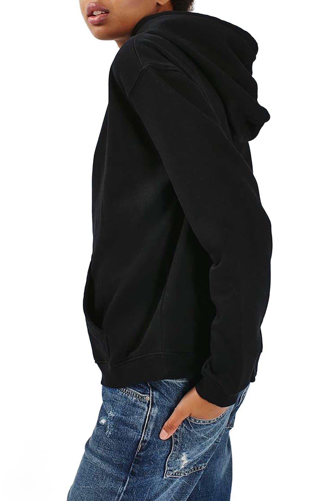 Alternate Image 3  - Topshop Oversize Hoodie