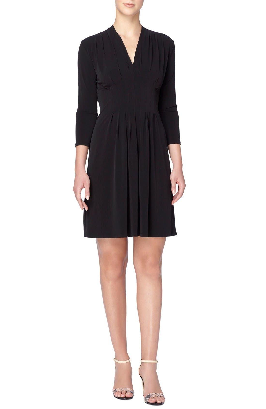 Catherine Catherine Malandrino 'Tinka' Jersey V-Neck Fit & Flare Dress