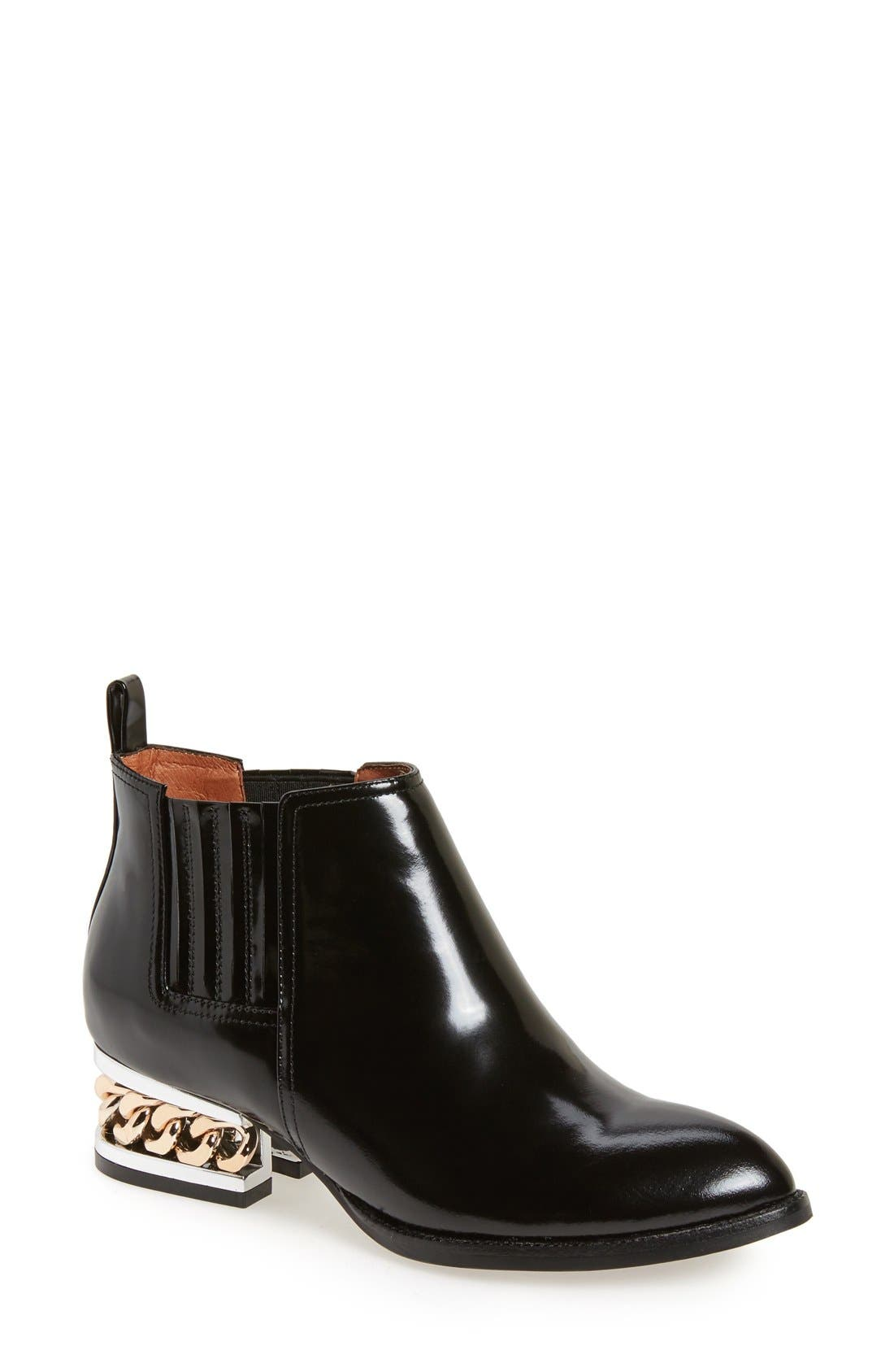 Alternate Image 1 Selected - Jeffrey Campbell 'Metcalf' Caged Heel Bootie (Women)