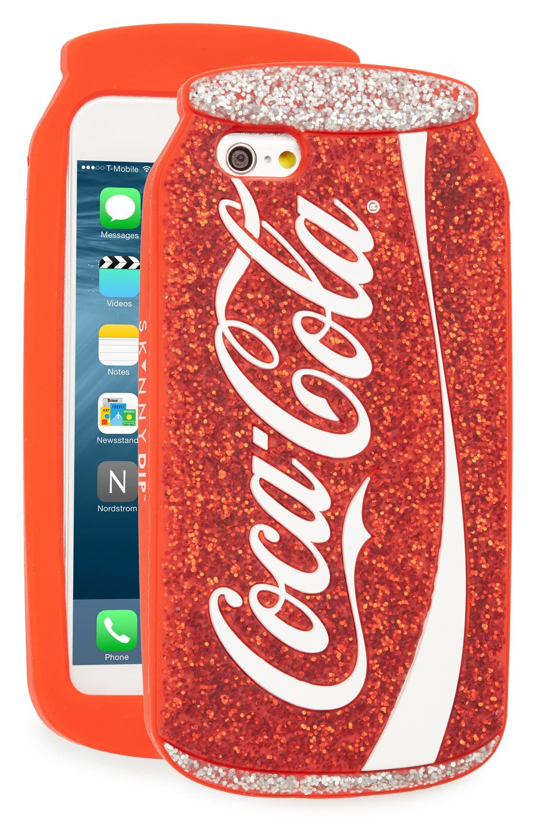 Alternate Image 1 Selected - Skinnydip Glitter Can iPhone 6 & 6s Case