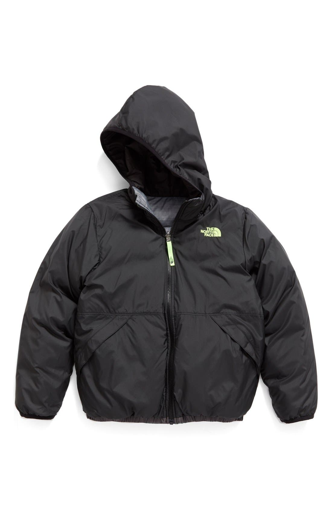Alternate Image 2  - The North Face 'Moondoggy' Water Repellent Reversible Down Jacket (Big Boys)