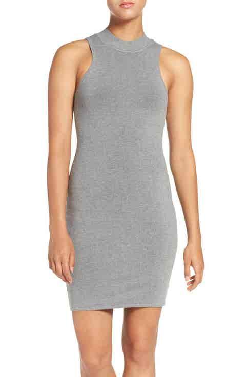 Ali   Jay Keyhole Back Body-Con Dress