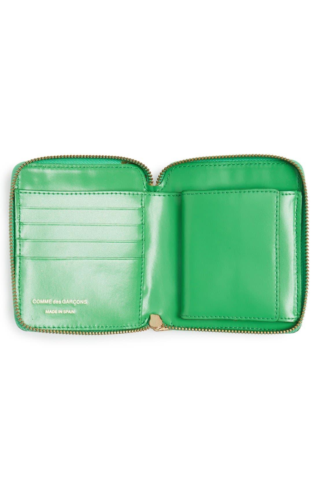 Alternate Image 2  - Comme des Garçons Embossed French Wallet