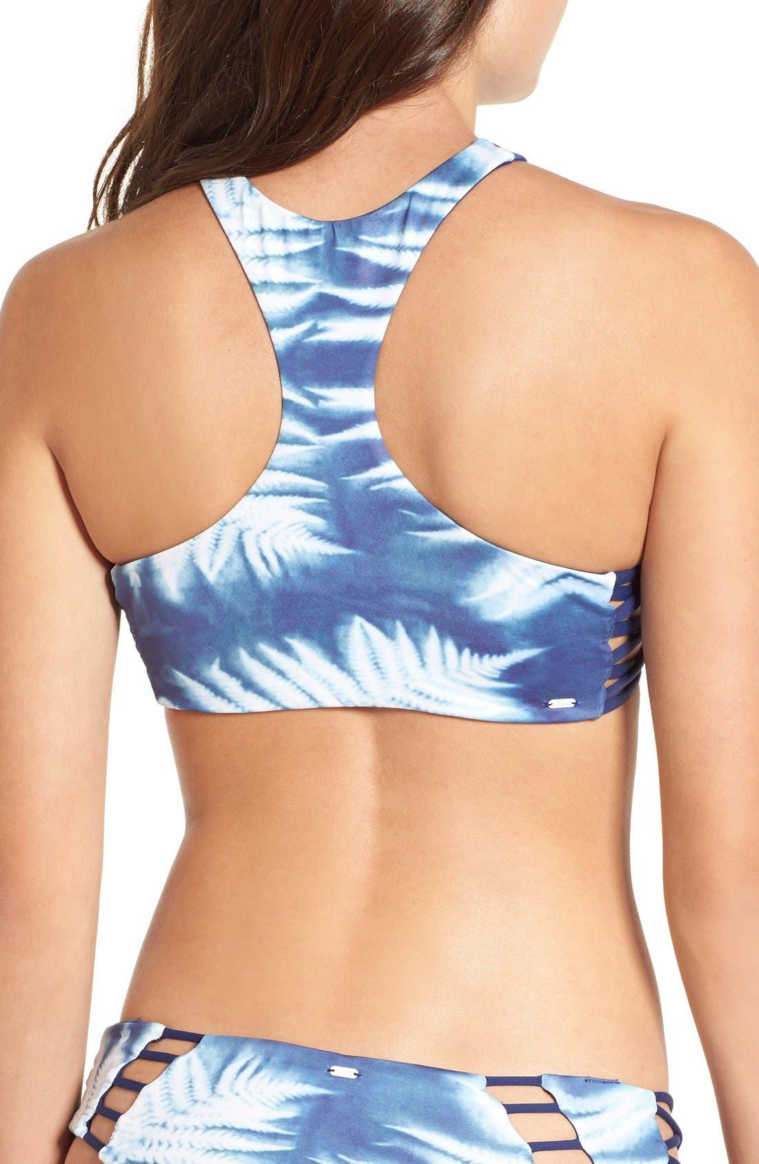 Alternate Image 2  - Rip Curl 'Westwind' Reversible High Neck Bikini Top