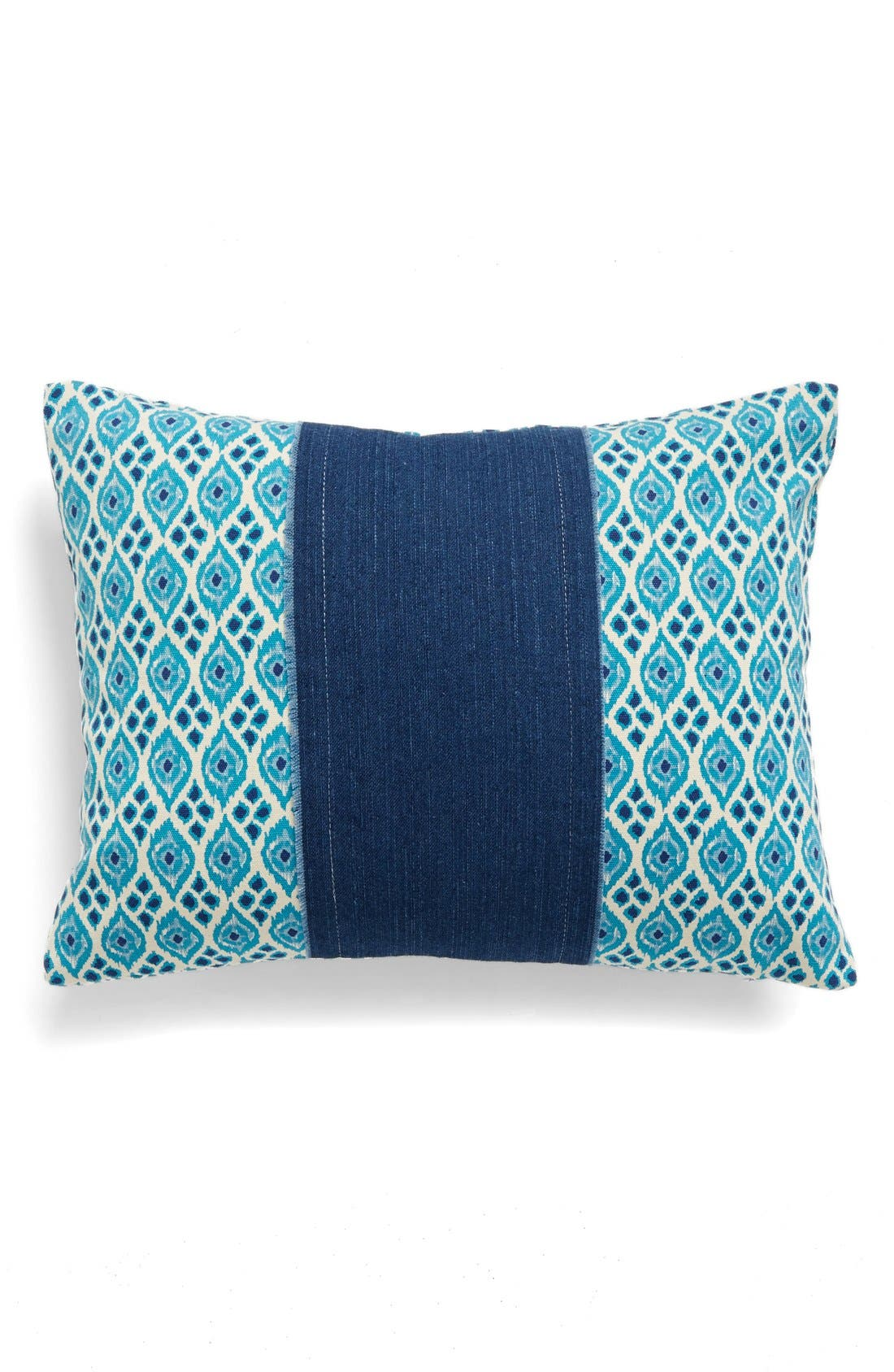 LEVTEX Raw Edge Denim Accent Pillow