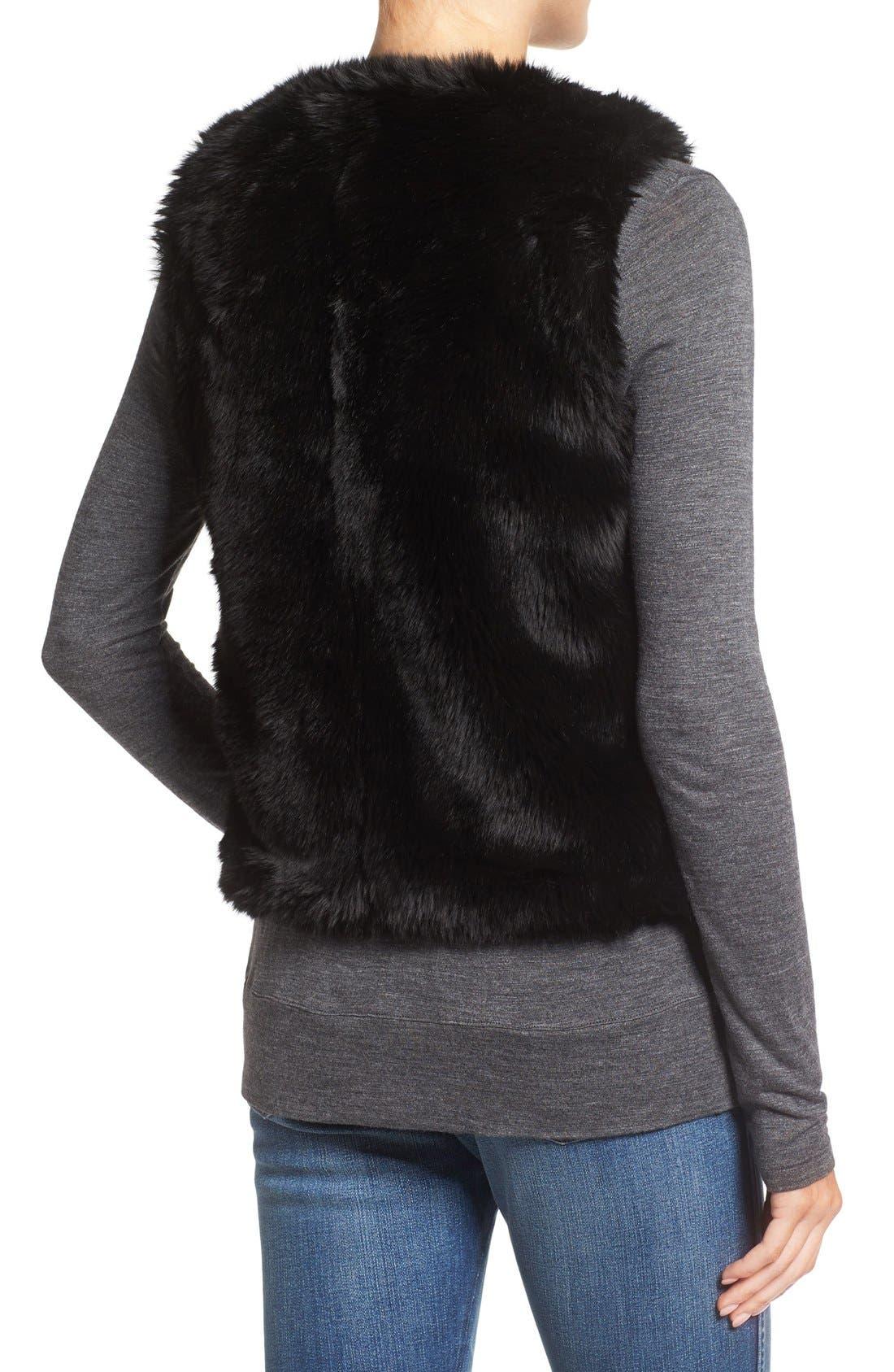 Alternate Image 2  - Madewell Faux Fur Vest
