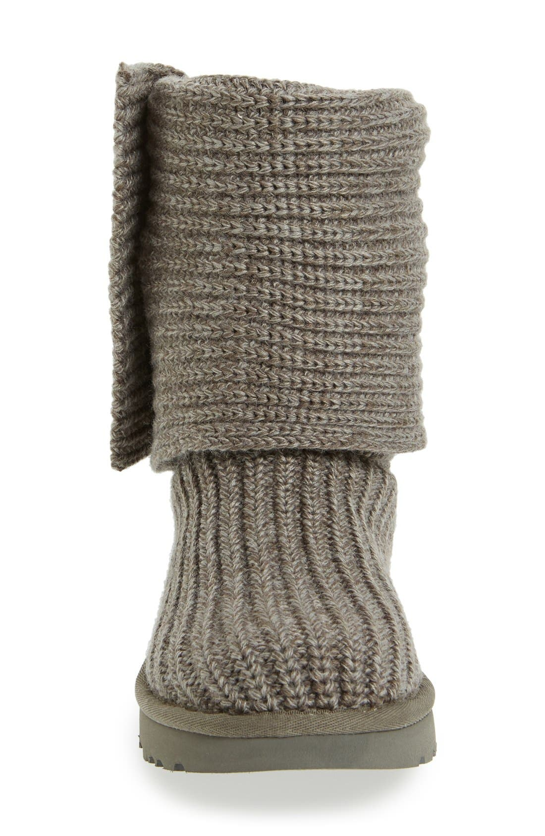 Alternate Image 3  - UGG® Classic Cardy II Knit Boot (Women)