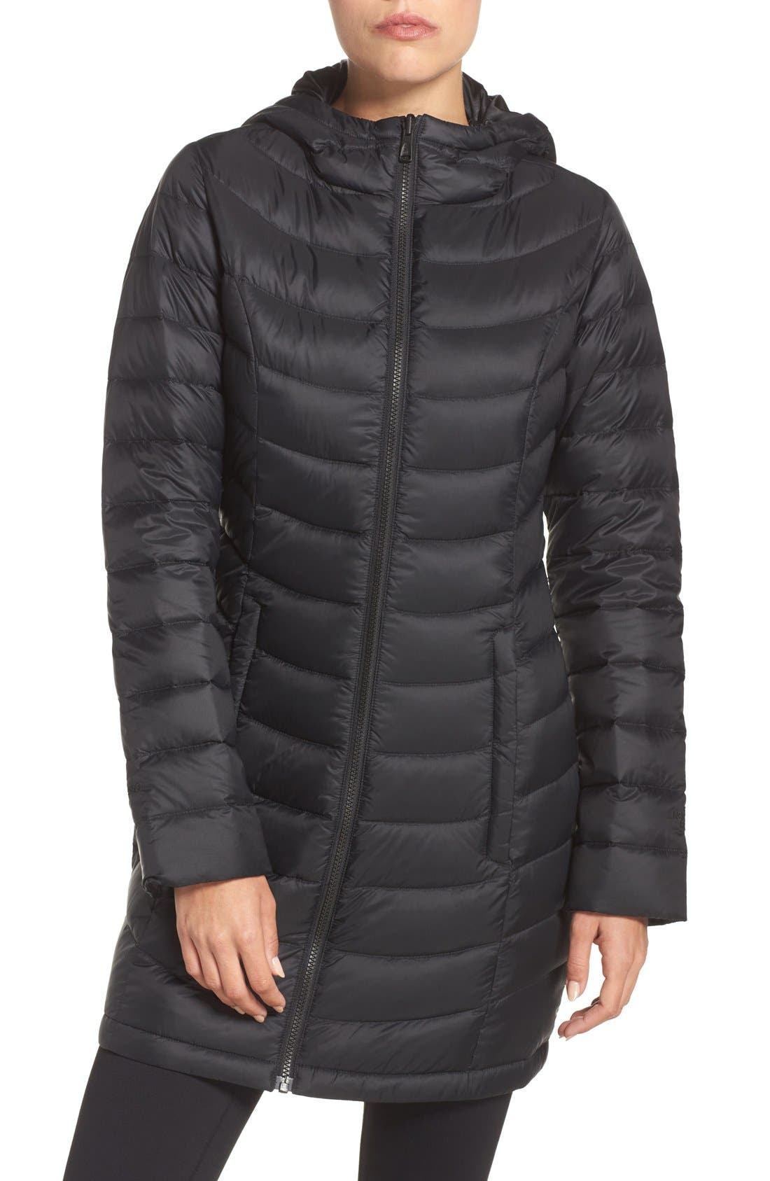 Main Image - The North Face 'Jenae' Hooded Down Jacket (Nordstrom Exclusive)