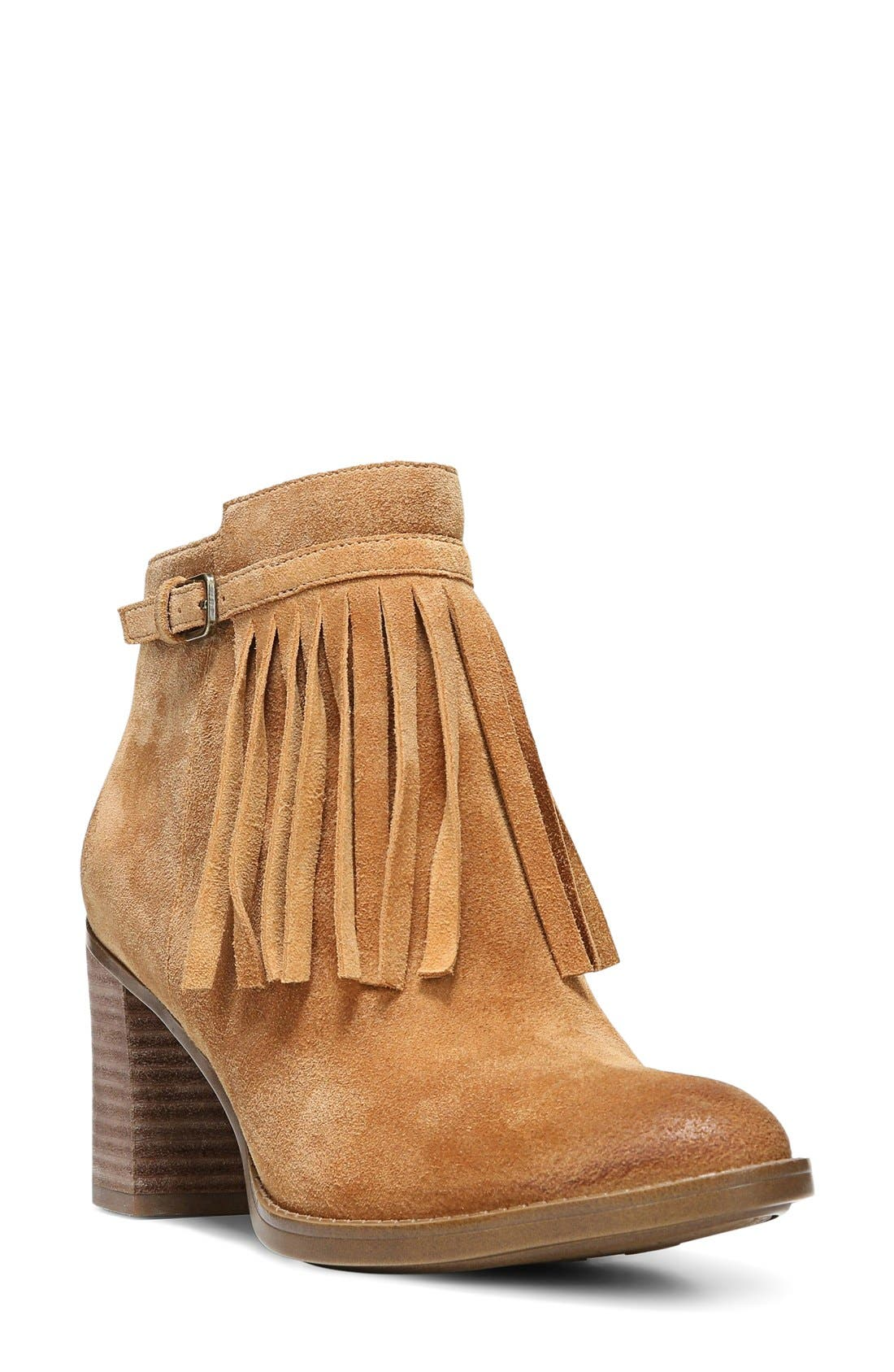 Naturalizer 'Fortunate' Fringe Bootie (Women)