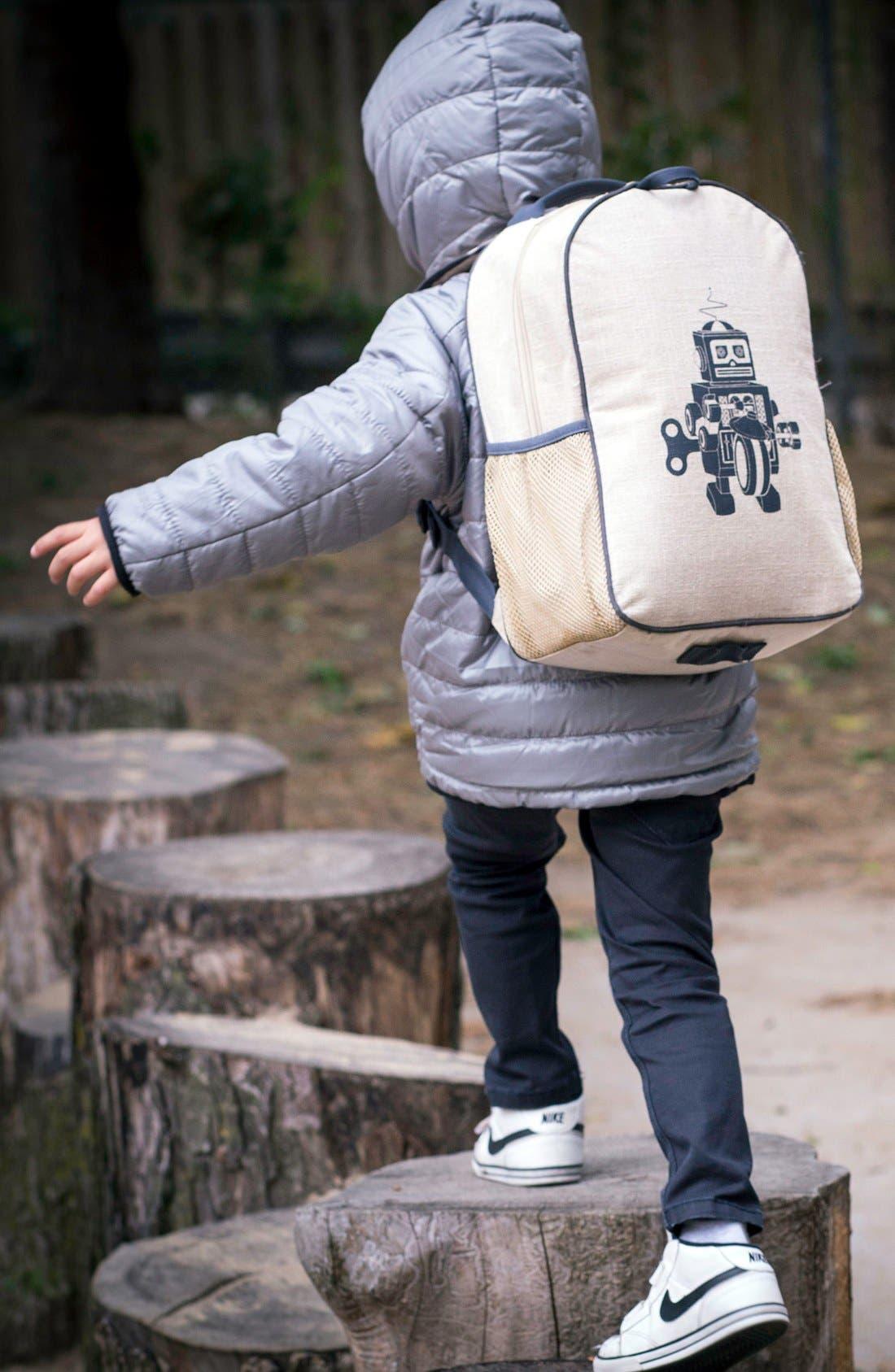 Alternate Image 2  - SoYoung Linen & Cotton Backpack (Kids)