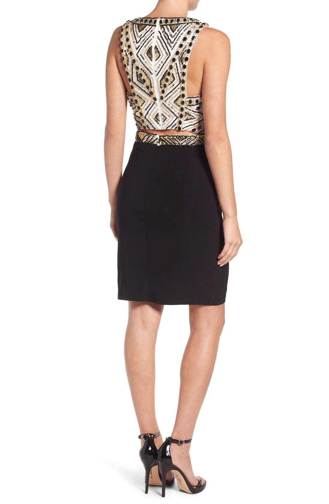Alternate Image 2  - Mac Duggal Embellished Body-Con Dress