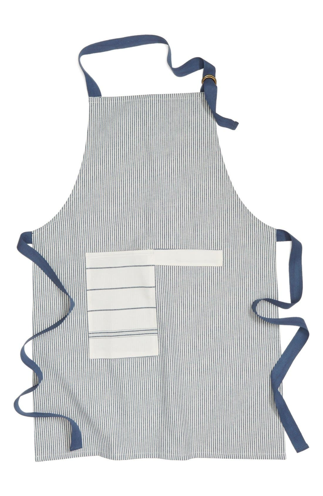 Alternate Image 1 Selected - Nordstrom at Home Stripe Cotton Apron