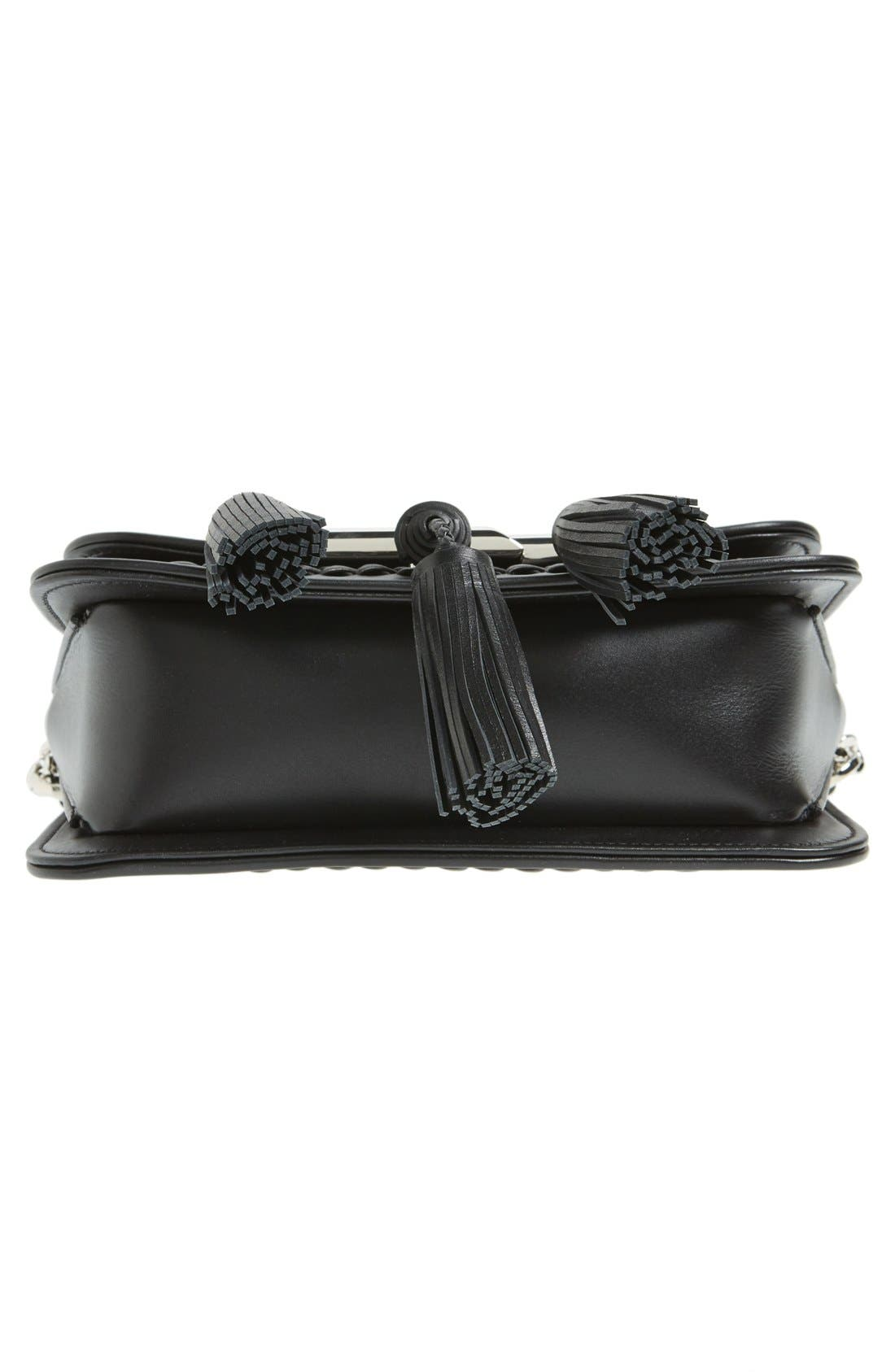 Alternate Image 7  - Tod's 'Mini Double T' Leather Shoulder Bag