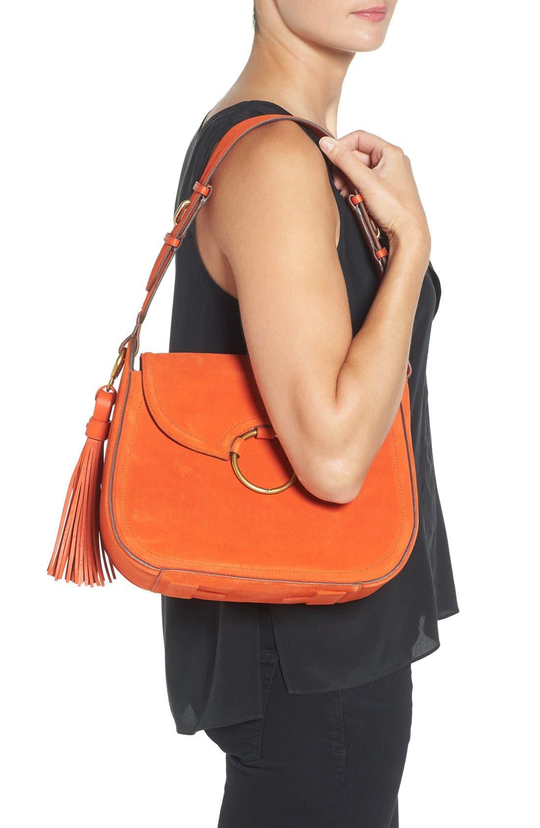 Alternate Image 2  - Tory Burch Leather Shoulder Bag