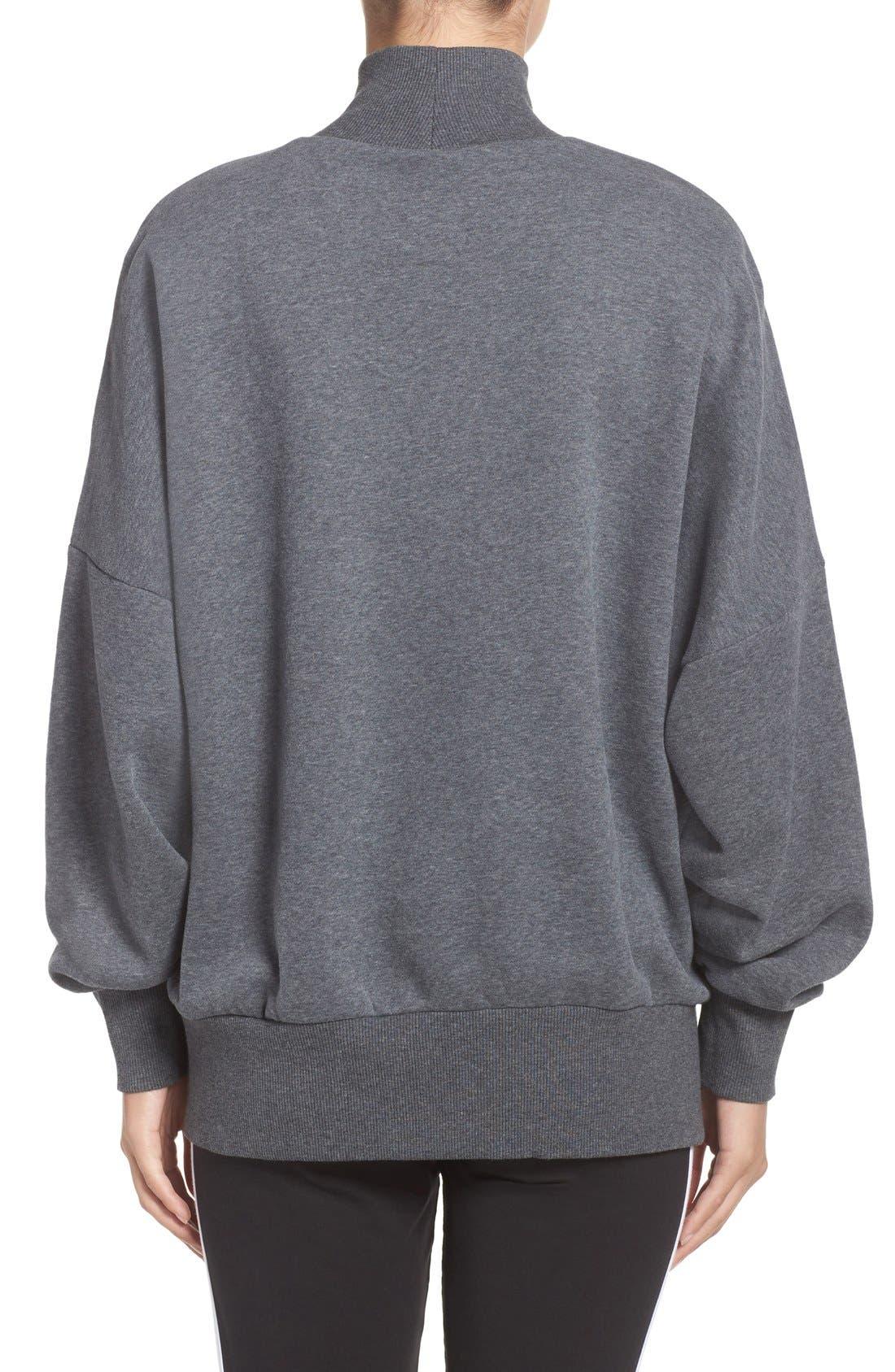Alternate Image 2  - adidas Originals Mock Neck Sweatshirt