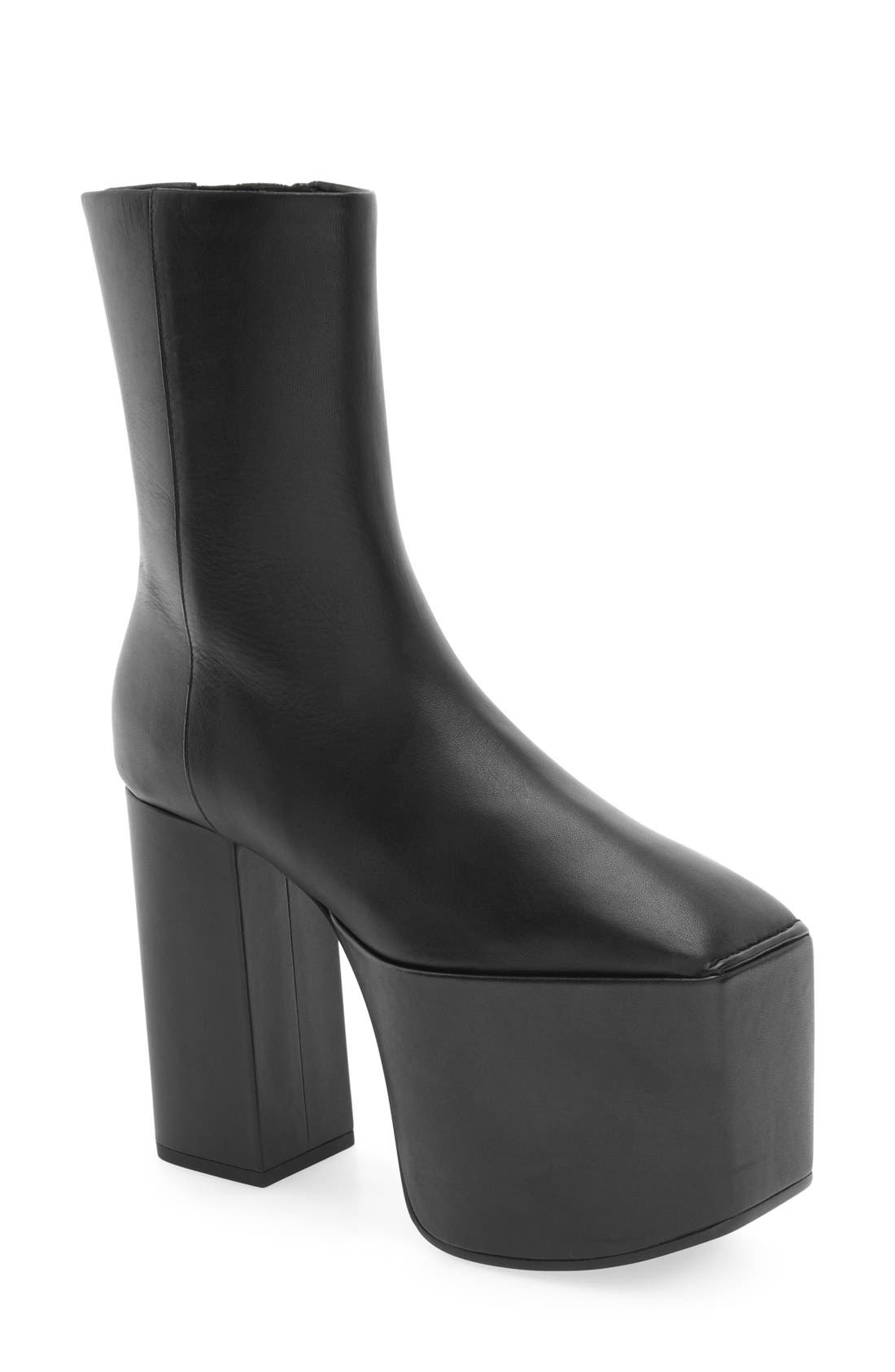 Alternate Image 1 Selected - Balenciaga Platform Bootie (Women)