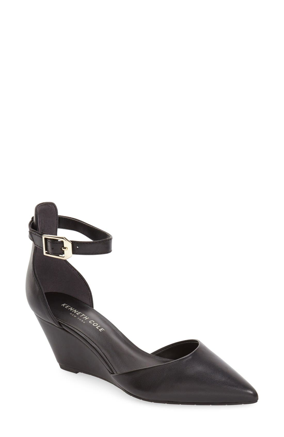 KENNETH COLE NEW YORK 'Emery' Pointy Toe Wedge