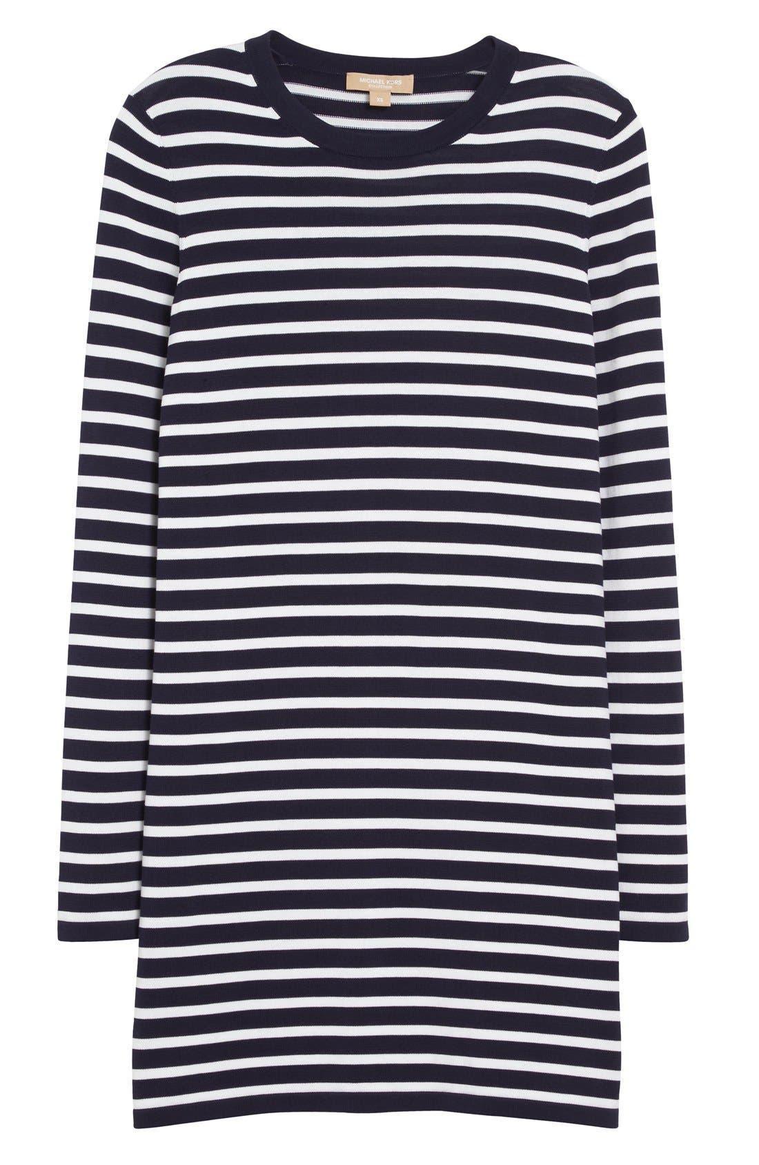 Alternate Image 4  - Michael Kors Stripe T-Shirt Dress