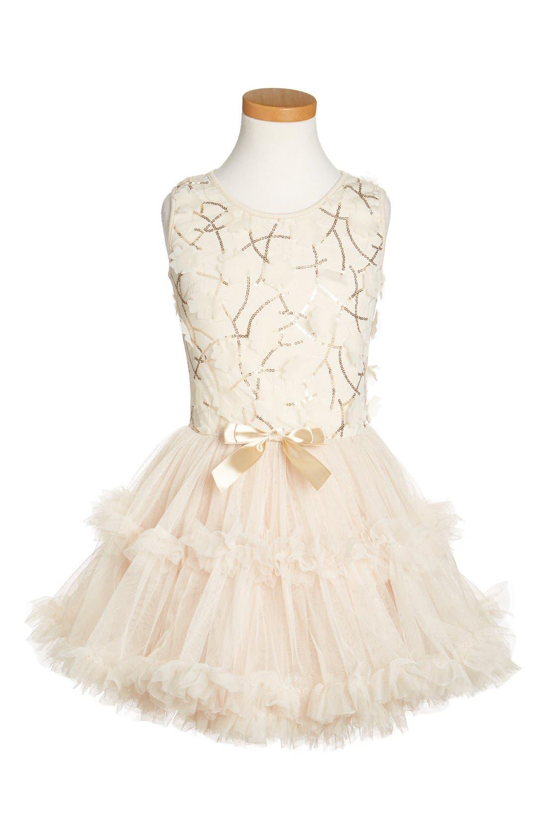 Popatu Sleeveless Tulle Dress (Toddler Girls & Little Girls)