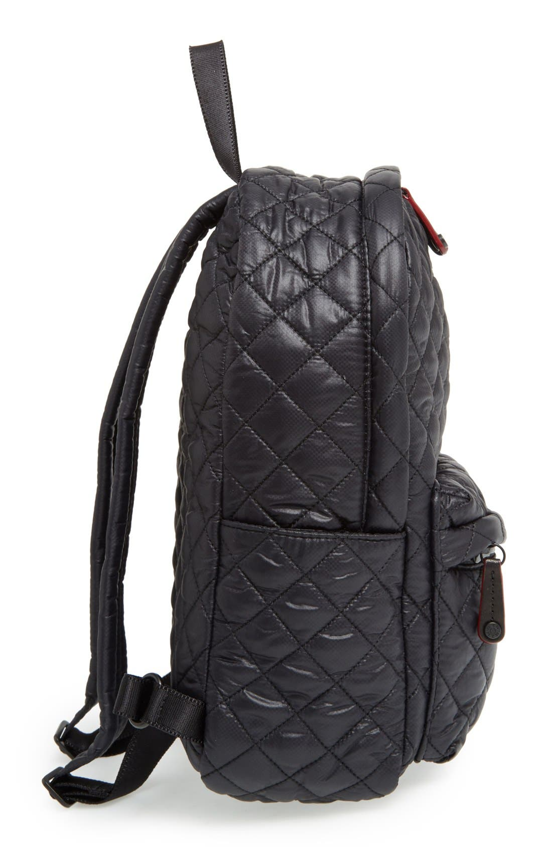 Alternate Image 5  - MZ Wallace 'Small Metro' Quilted Oxford Nylon Backpack