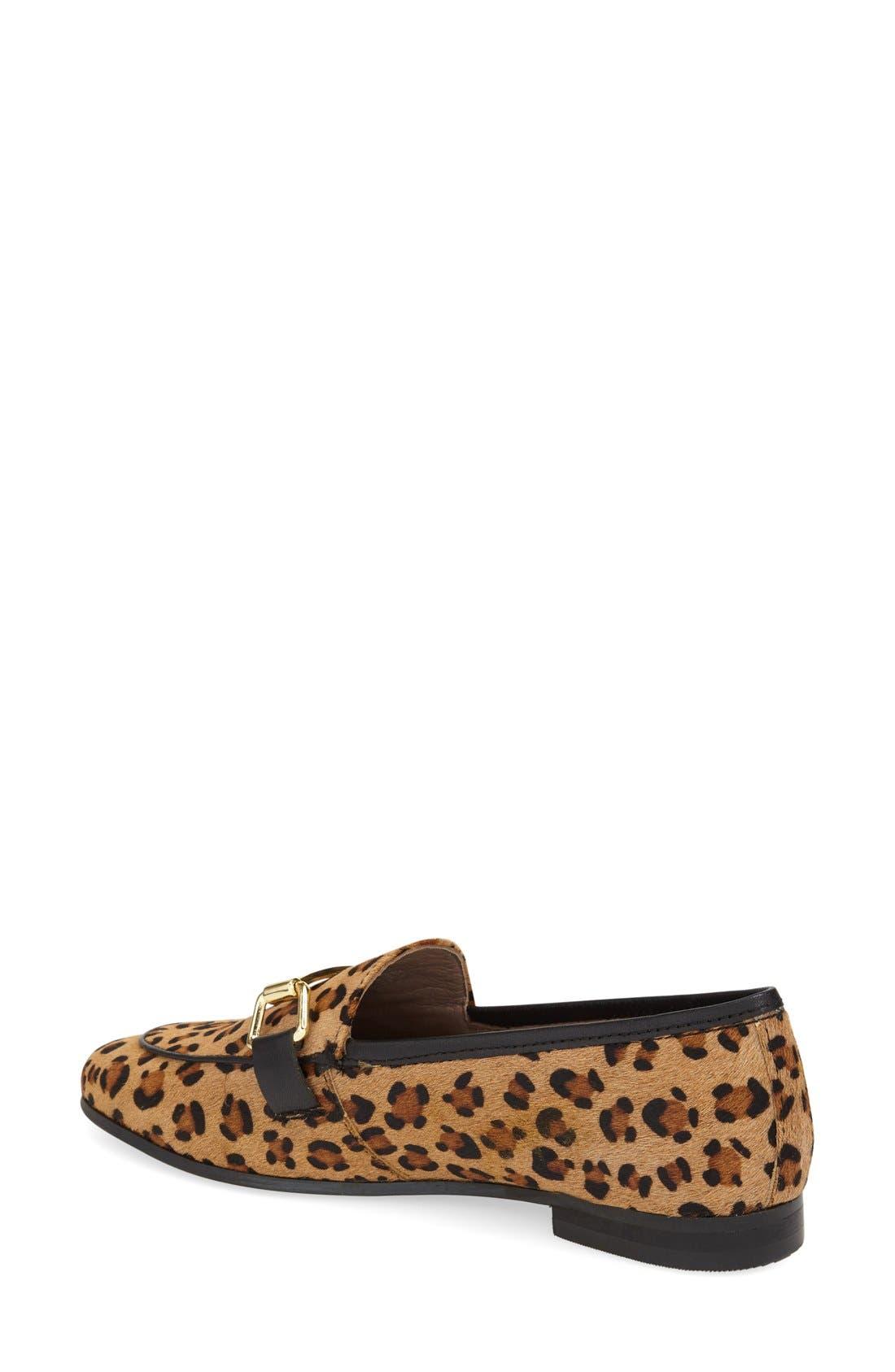 Alternate Image 2  - Topshop 'Kendall' Genuine Calf Hair Loafer (Women)